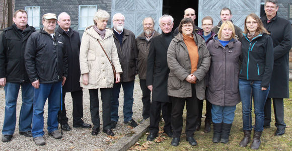 Members of the Friends' Association at Laura Memorial