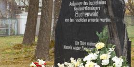Denkmal im Andenken an die Opfer des ehemaligen KZ-Lagers