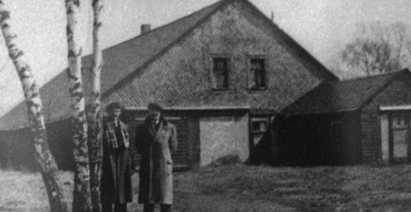 Block III, Italienerlager, historische Aufnahme