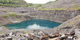 View of the quarry today
